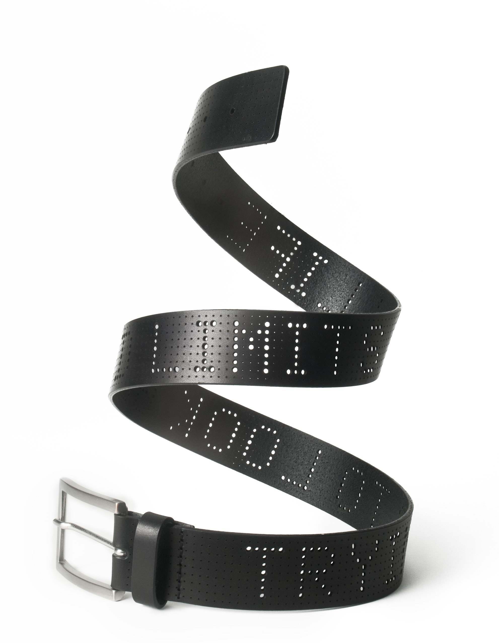 Typographic Belt